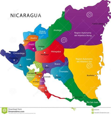 imagenes satelitales nicaragua mapa de nicaragua nicaragua pinterest