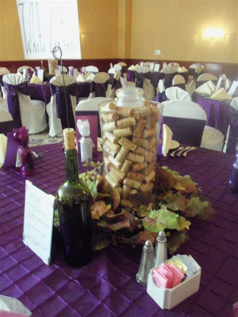 wine themed wedding decorations wine themed wedding centerpiece wedding ideas
