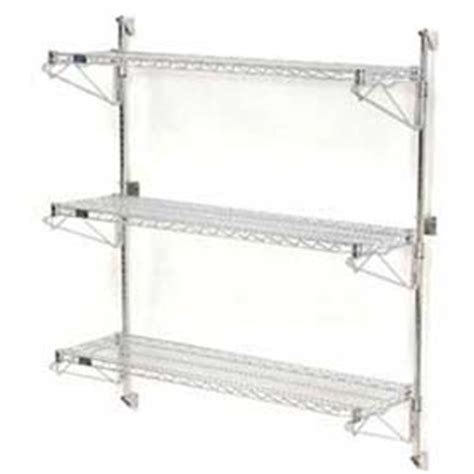 Wall Mount Wire Shelf by Wall Mount Wire Shelving Global Industrial