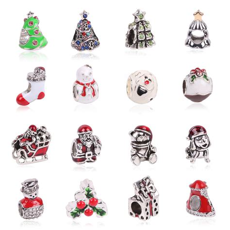 christmas charms for jewelry making