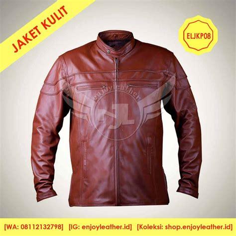 jaket kulit pria terbaru  terbaik asli garut keren