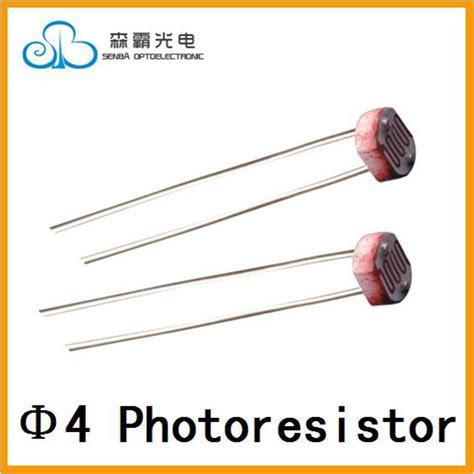 photoresistor properties aliexpress buy 4mm cds photoconductive cells photoresistor ldr sensor light dependent