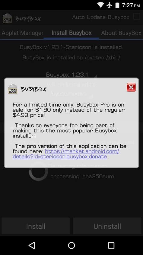 android busybox ما هو ال busybox و كيف تقوم بتثبيته على هاتفك الأندرويد