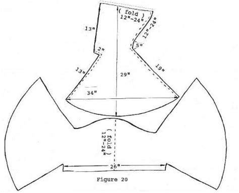 pattern based hood pattern based on the find from bocksten in sweden