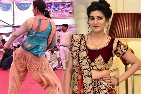 sapna choudhary in sapna choudhary in jaipur for punjabi song shooting