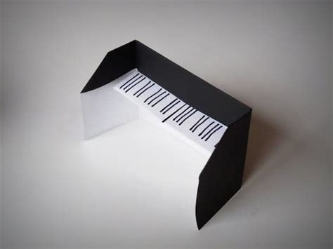 Origami Piano - origami how to make a piano zxl