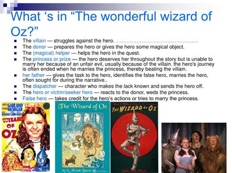 Ppt The Wonderful Wizard Of Oz Powerpoint Presentation Id 4502449 Wizard Of Oz Powerpoint Template