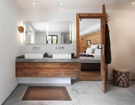 Badezimmer Waschtisch by Gasteiger Bad Kitzb 252 Hel Chalet Stil Badplanung Rustikal