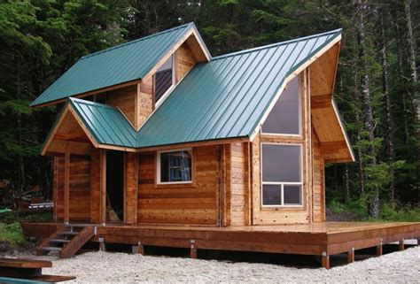 backyard cabin kits tiny house kits for sale a unique roof design with many