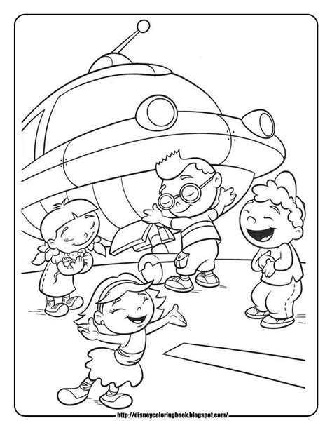 free coloring pages of disney junior
