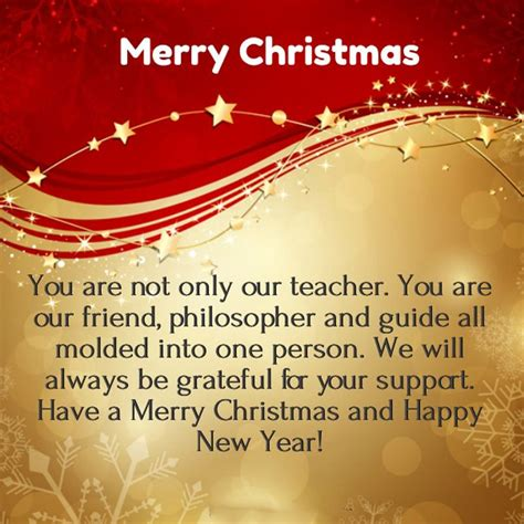 christmas message  teachers    happy message  teacher christmas messages