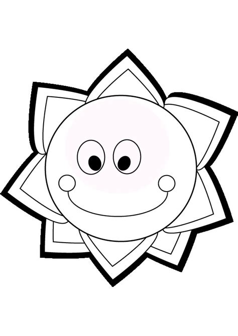 sun coloring page pdf sun coloring pages 9 coloring kids