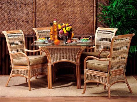 Kozy Kitchen Paradise by Island Paradise Rattan Dining Set Kozy Kingdom