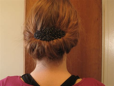 tuck in hairstyles simple style gibson tuck redheadedambitions