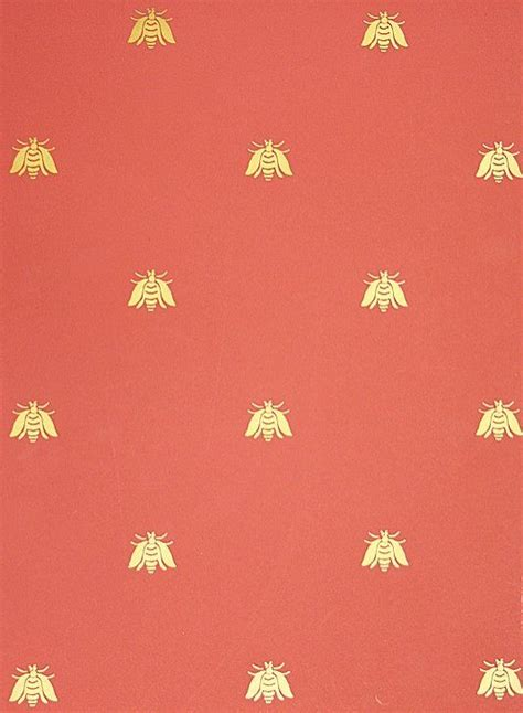 wallpaper with gold bees bee wallpaper a small gold bee pattern repeat wallpaper on