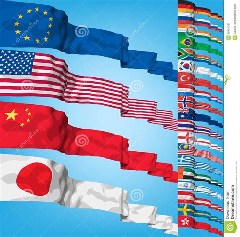 flags of the world x plane download vector set of world flags stock image image 19451391