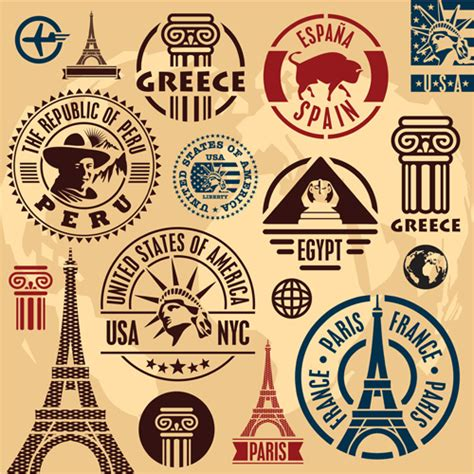 travel stamp free vector download 2 097 free vector for