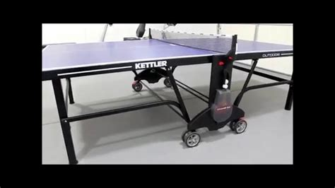 kettler outdoor ping pong table kettler ch 5 0 outdoor ping pong table review