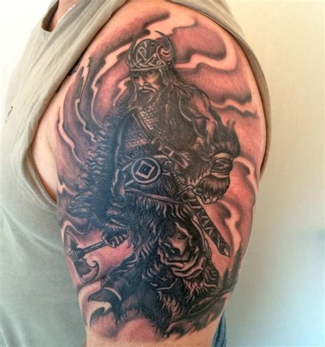 half sleeve viking tattoo tattoos center
