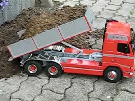 tamiya volvo fh  tipper truck youtube