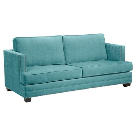 sofa teal madison sofa in teal dream home pinterest