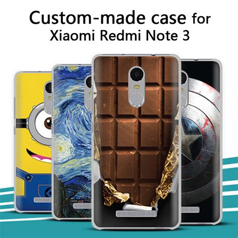 aliexpress buy xiaomi redmi note 3 unique and 3d custom made painted back