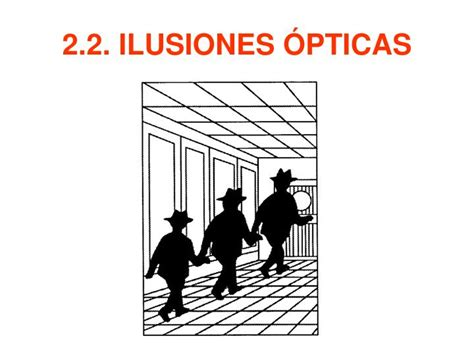 ilusiones opticas powerpoint ppt la percepci 211 n powerpoint presentation id 5178756