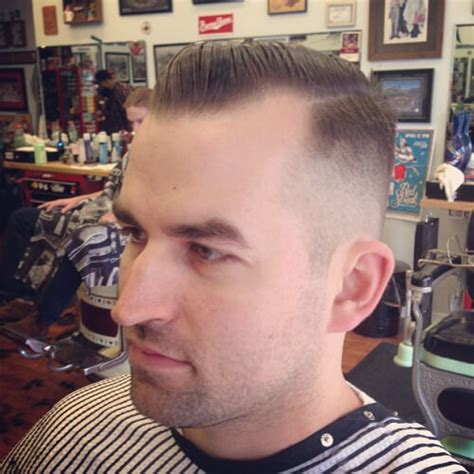 slick back with receding hairline hairstyles and cuts for men with receding hairlines men