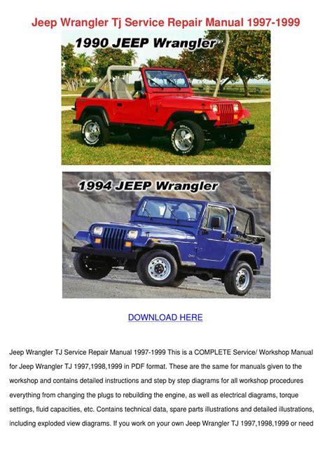 small engine repair manuals free download 1998 jeep cherokee windshield wipe control jeep wrangler tj service repair manual 1997 1 by jasonglasgow issuu