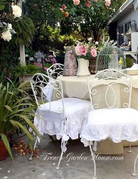 shabby chic dining room chair covers 28 images dining