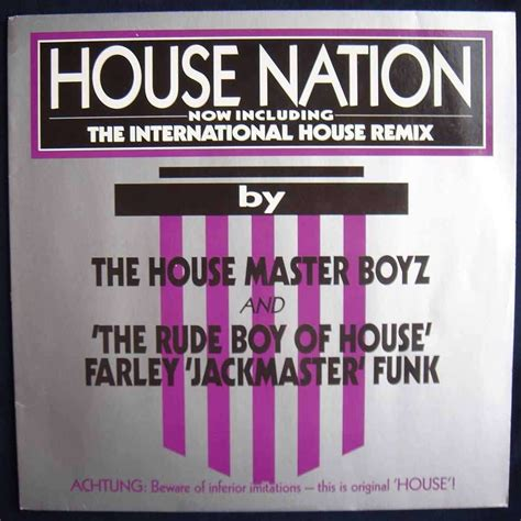 master of the house house nation by house master boyz the rude boy of house the 12 inch x 1 with