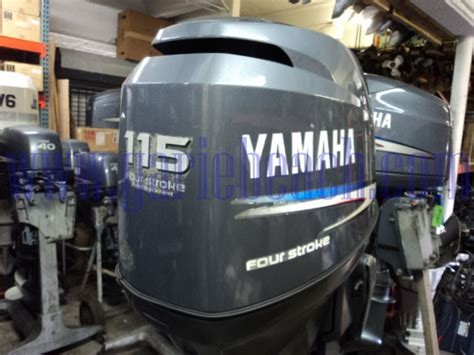 used 115 hp outboard motors for sale yamaha f115hp 20 quot shaft efi outboard motor