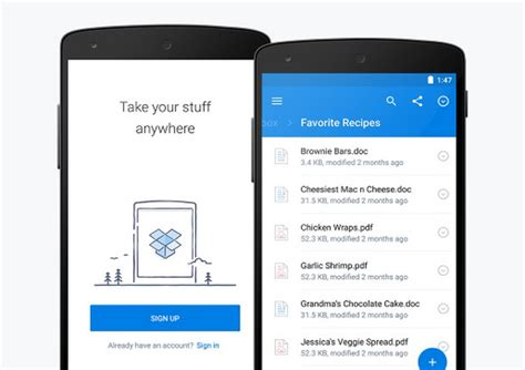better apps for android dropbox redesigned android app for better faster