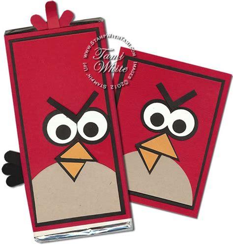 Legobrick Ang Bird The 1 angry birds bar card diy stin up on