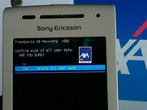 reset password xperia e15i tutorial hard reset xperia e15i axa cell