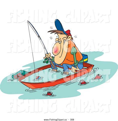 cartoon fishing boat the gallery for gt man fishing in boat cartoon