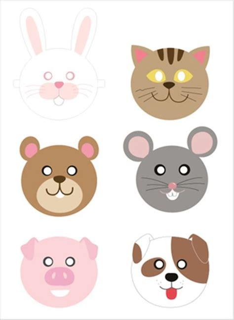 printable animal masks free animal masks printable free printables pinterest