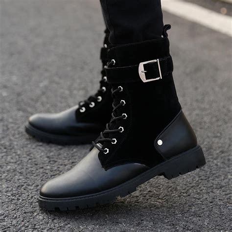 Dr Martin High Shoes fashion 2016 winter leather dr martin boots fur martin