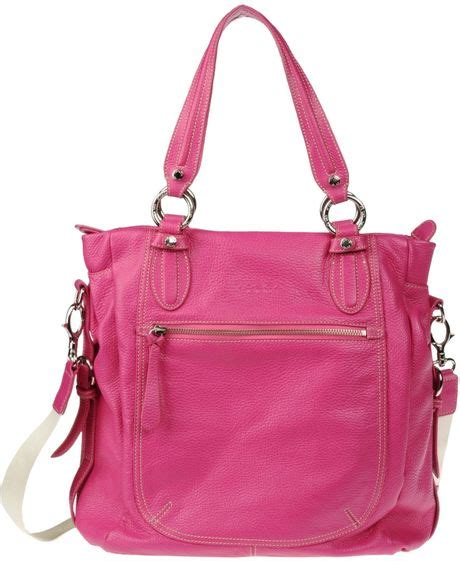 Tas Kate Spade Messenger Tosca tosca large leather bag in pink fuchsia lyst