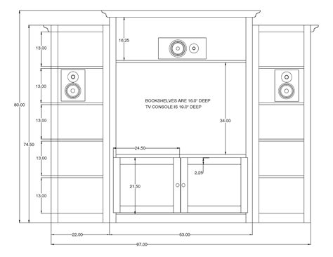 built in media cabinet dimensions our new custom built diy entertainment center blog for