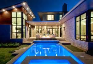 cornerstone architects cat mountain residence contemporary pool austin by cornerstone architects