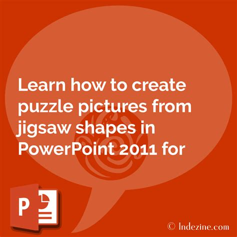 Puzzle Pictures In Powerpoint 2011 For Mac How To Create Jigsaw Puzzle In Powerpoint
