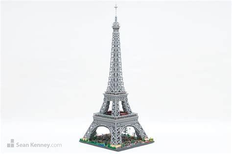 Lego Home Decor by Sean Kenney Art With Lego Bricks Eiffel Tower