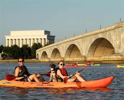 Key Bridge Boat House by One Hour Kayak Or Paddleboard Rental Three Washington