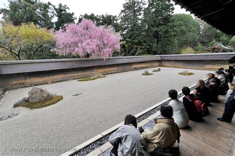 Travel Pictures Gallery Japan Kyoto 0004 Ryoan Ji Zen Kyoto Rock Garden