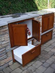 Outdoor Kitchen Furniture Custom Made Outdoor Kitchen Cabinetry By Don Laporte