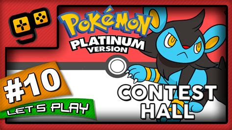 lets play pokemon platinum parte  contest hall youtube