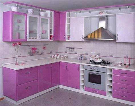 purple kitchen decorating ideas purple and pink kitchen colors adding retro vibe to modern kitchen design and decor