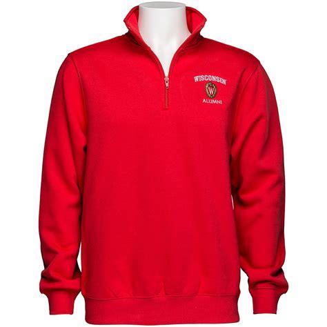 Hoodie Zipper Alumni 212 Redmerch top promotion wisconsin alumni 188 zip sweatshirt book store