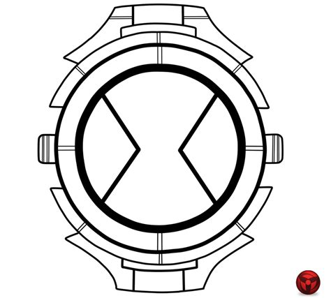 Ben Ten Omniverse Coloring Pages by Ben 10 Omniverse Omnitrix Coloring Coloring Pages